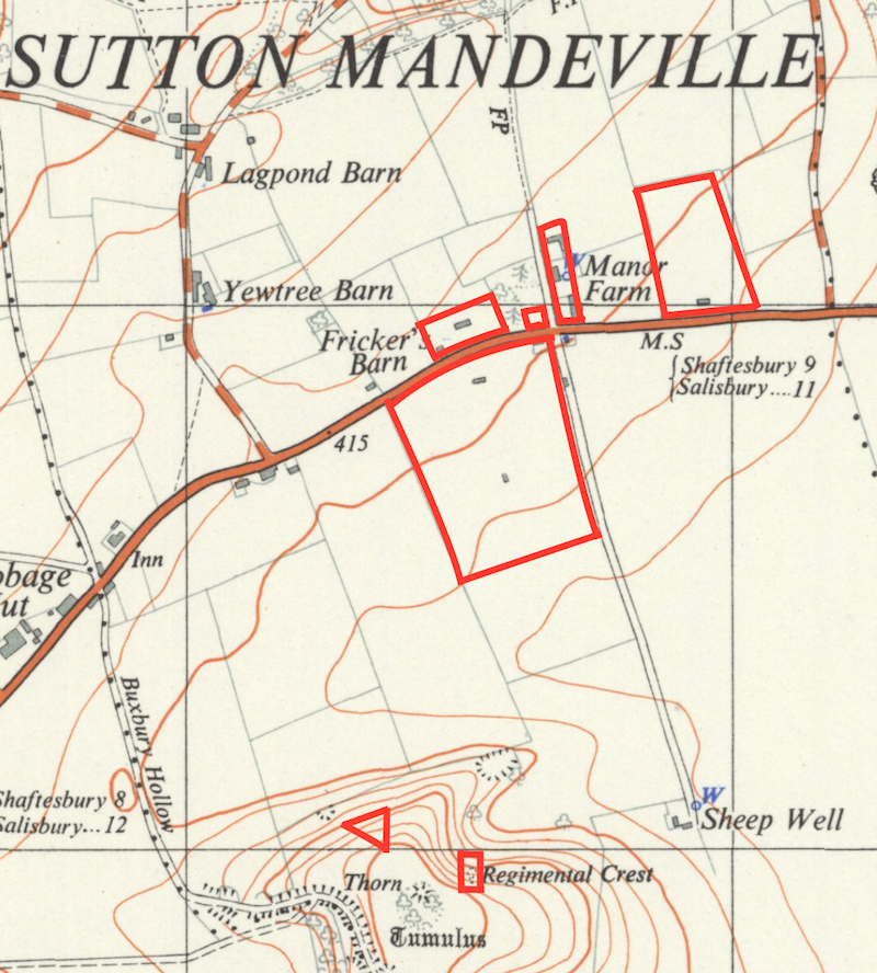 Sutton Badges Sites Map